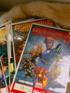 Guardians of the Galaxy issues 1-9