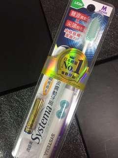 日本銷量No.1 獅王 適齒美 Systema 聲波震動牙刷