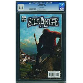 Marvel Knights Dr Strange #1 Origin Re-told CGC 9.8 Highest Graded