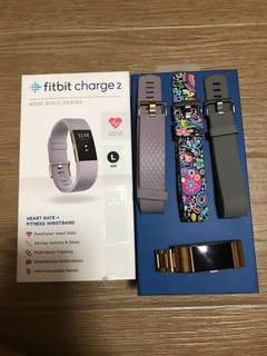 Fitbit charge 2 rosegold series