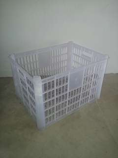 Free : Storage crate box for bicycle backside