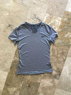 BNEW Nike Grey Gym Top