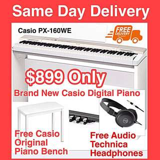 Brand New Casio TOP-SELLING Digital Piano  With Warranty