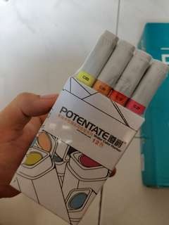 High Quality water colour marker 12 colours