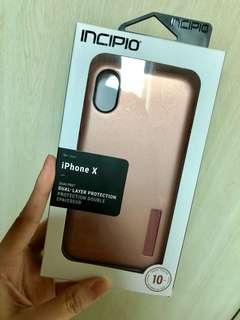 INCIPIO Iphone X ShockProof Dual Layer Cover 10ft drop tested