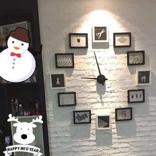 Photo Frame & wall clock