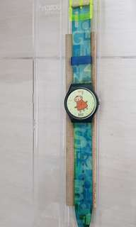 Cow Boy Swatch Watch.