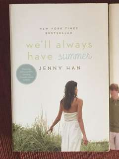 We'll always have summer by jenny han book