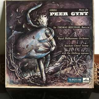 Vynil Records - Grieg Music for Peer Gynt