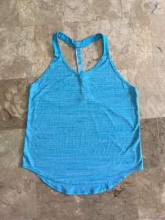 Nike Blue Dri-Fit Tank top