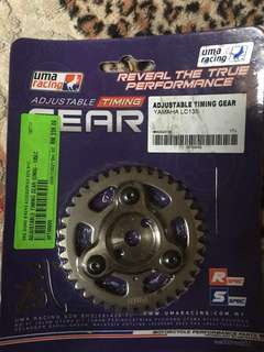 uma racing adjustble timing gear 135lc