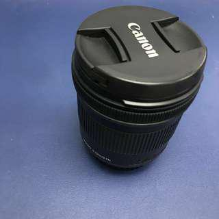Canon EF-S 10-18 IS 超廣角 抵玩