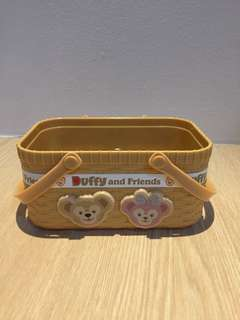Duffy and Friends collectible storage basket