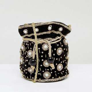 🚚 Reclaimed Vintage Beaded Occasion bag