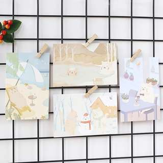 (PO) A Day in a Cat's Life Postcards/ Post Cards