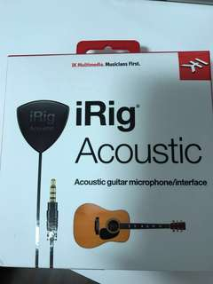 Acoustic guitar microphone