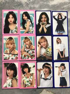Twiceland Fantasy Park Photocards