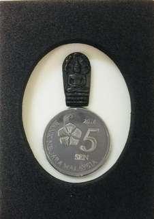 Thai Amulet Old Namprok Buddha