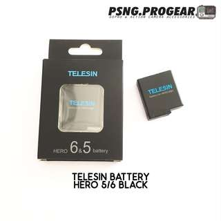 TELESIN Battery for GoPro Hero 5/6 Black