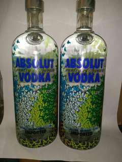 Absolut Brazil Butterfly vodka collection
