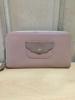 Authentic See by Chloe Long Zippy Wallet