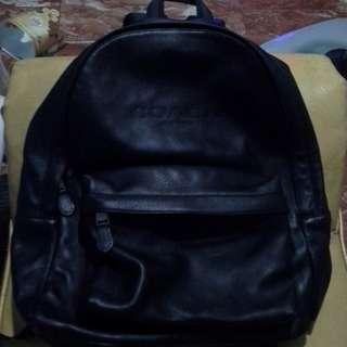 100% ORIGINA COACH LEATHER BAG PACK