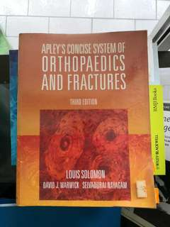 Apley's concise system of Orthopaedics and Fractures
