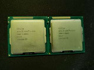 Intel Core i3-3225 @3.30GHz
