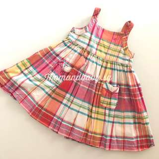 SALE! Authentic Rare RL plaid dress