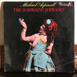 Vynil Record - Michael Aspinall The Surprising Soprano