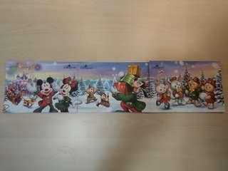 (交換)香港迪士尼聖誕postcard