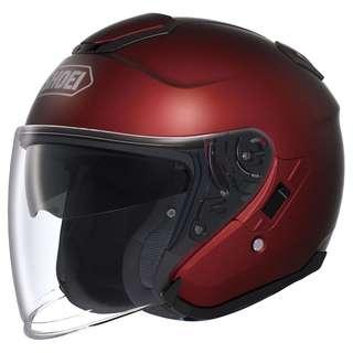 Shoei J-Cruise Open-face Helmet (Plain)