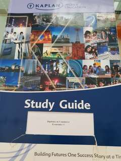 Diploma in Commerce  study guide