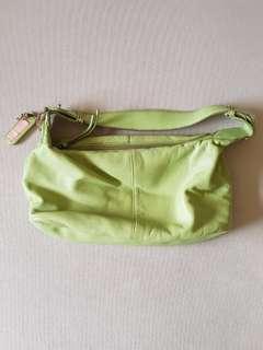 Liz Claiborne Apple Green Handbag