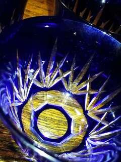 藍寶石切子茶碗套裝