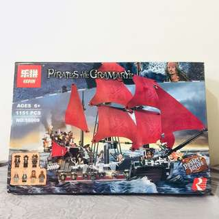 Pirates of the Carribean-Inspired Lepin (Lego-like)
