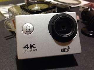 4K Ultra HD DV Sports Camera (Silver)