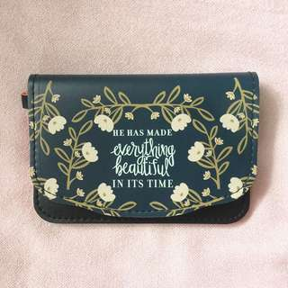 Handly Wallet with Biblical Verse
