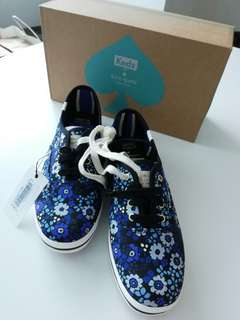 Original Keds for Kate Spade Canvas Shoes US size 7 1/2 M