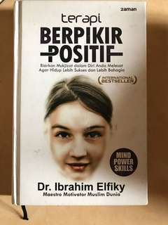 Buku terapi berpikir positif