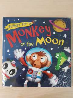 Planet Pop-Up: Monkey on the Moon By Jonathan Litton