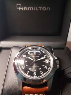Brand New Hamilton Khaki King
