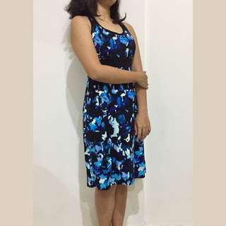 DAKINI DRESS BLUE