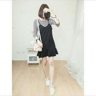 🚚 粉色✨韓國兩件式洋裝✨整套100 #女裝半價拉