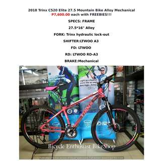 2018 Trinx C520 Elite 27.5 Mountain Bike Alloy Mechanical Keysto Phantom Totem Bikeshop Bicycle Enthusiast