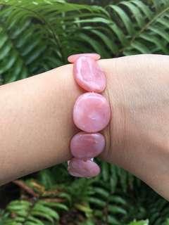 Rose opal bracelet