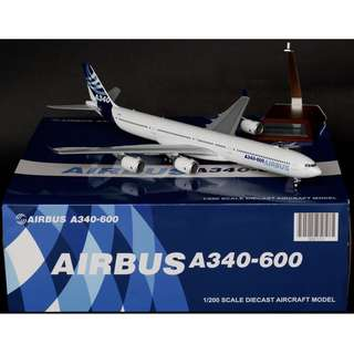 1/200 JC Wings Airbus Old House Colours A340-600