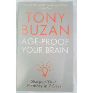 🚚 Age Proof Your Brain - Tony Buzan