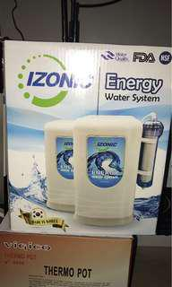 Izonic energy water system