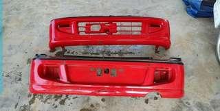 Kenari standard bumper depan belakang